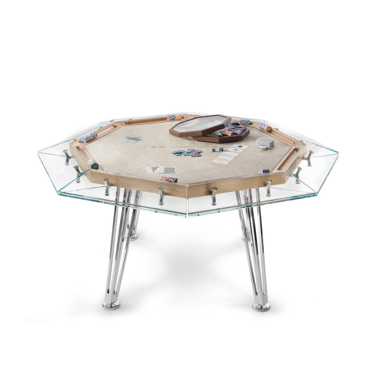 Italian Designer Unootto Poker Table Italian Designer Luxury Game Room Furniture At Cassoni