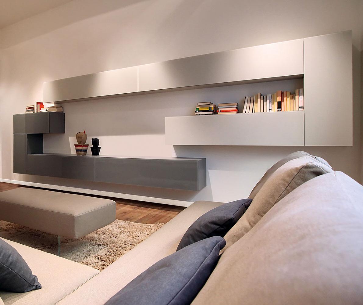 High-end Luxury 36e8 Wall Unit Comp. 155