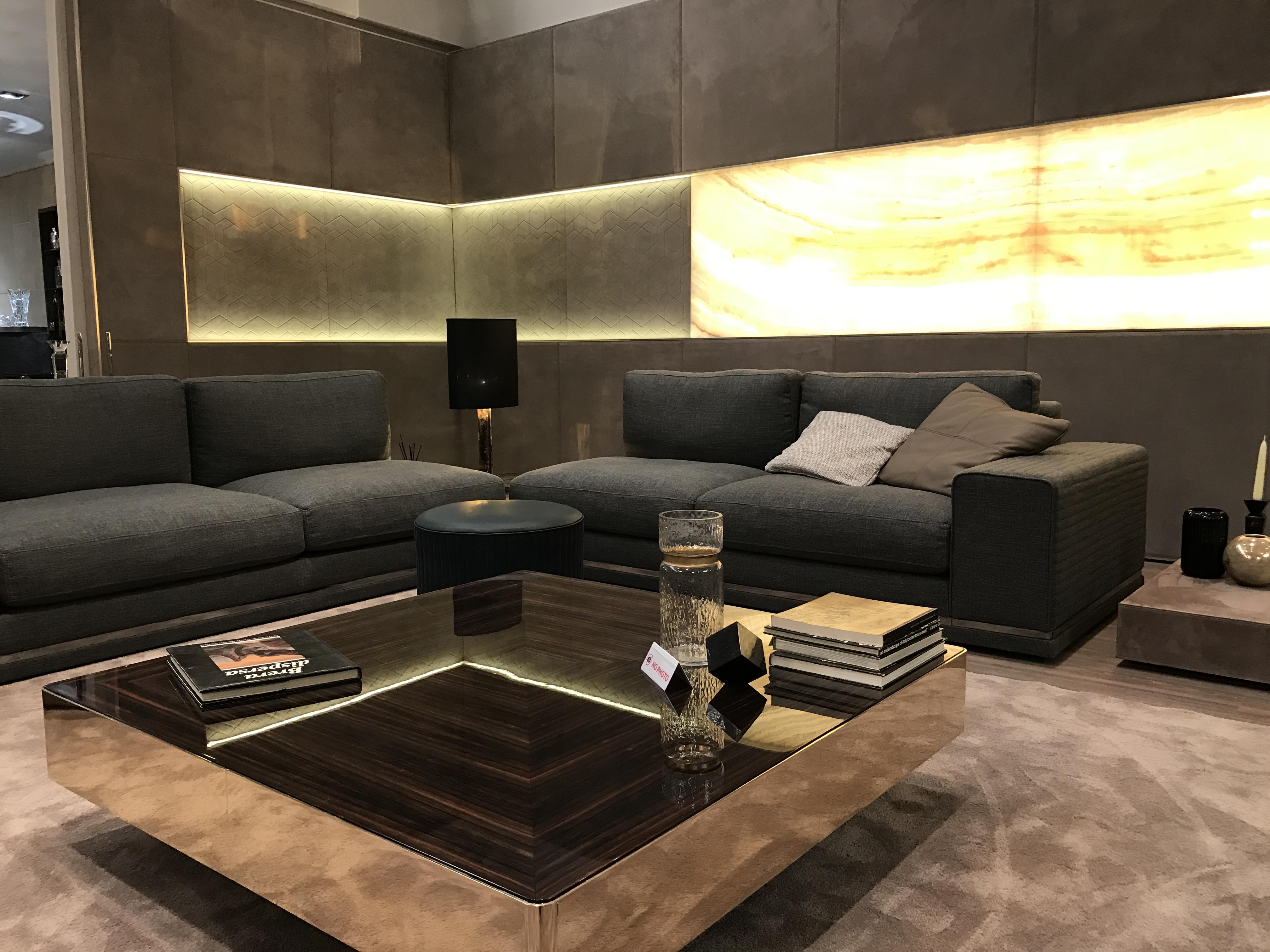 Luxury Italian Designer Cohen Sectional Italian Designer Luxury