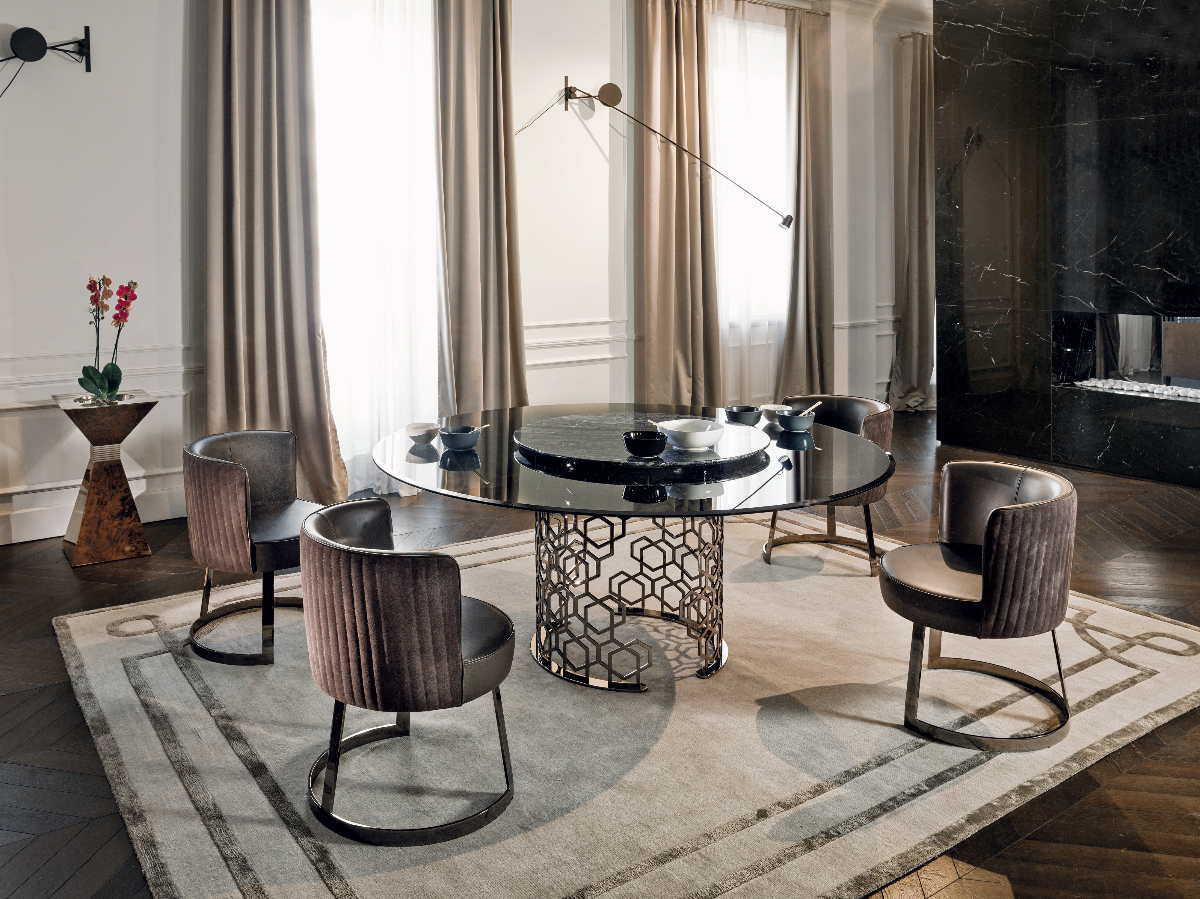 Manfred Luxury Italian Table Italian Designer Luxury