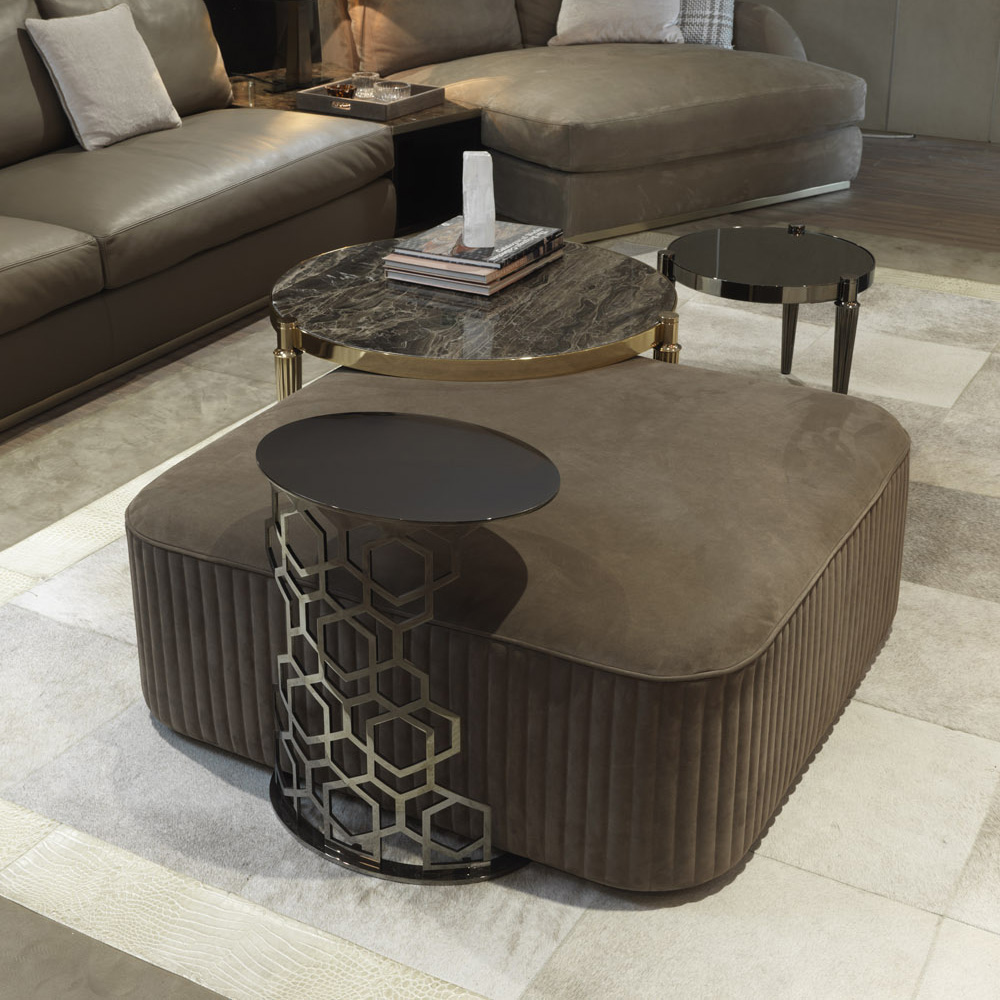 Luxury Italian Designer Martin Side Table Italian