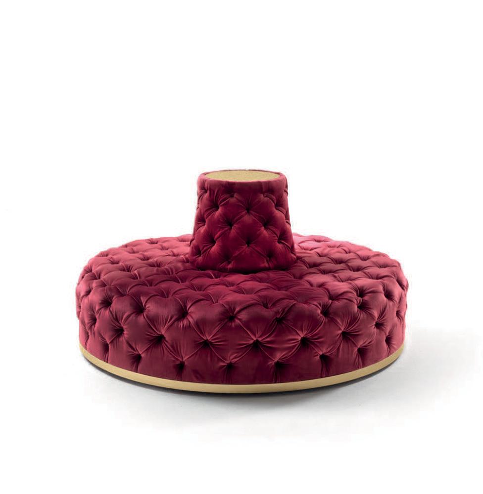 Miur Luxury Glamour Island Bench Italian Designer