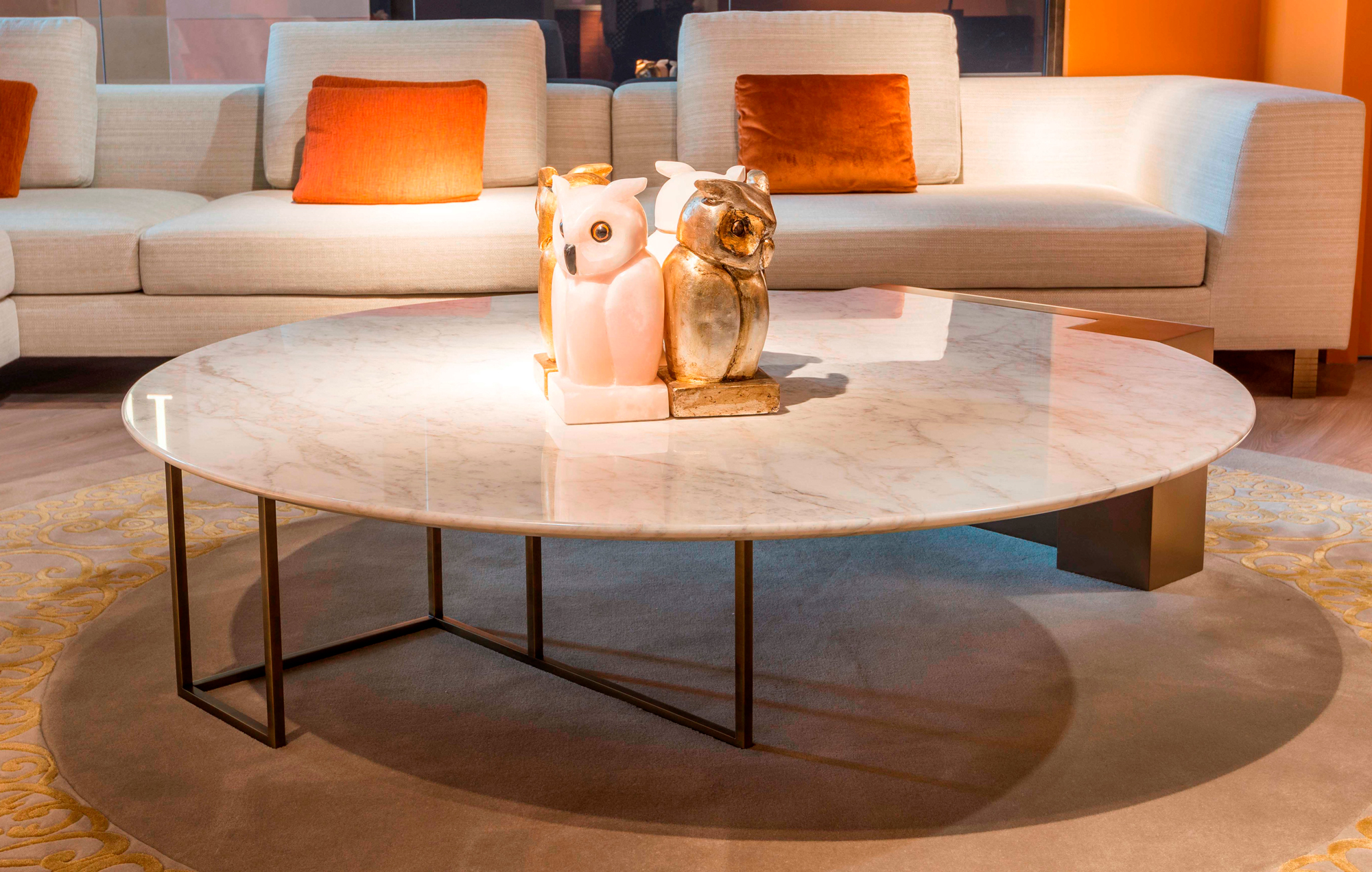 Sophisticated sc 5045 italian coffee table italian - How high is a coffee table ...