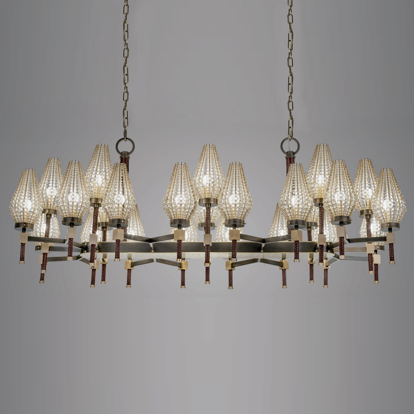 Luxury High End Italian Designer Dew Chandelier Designer