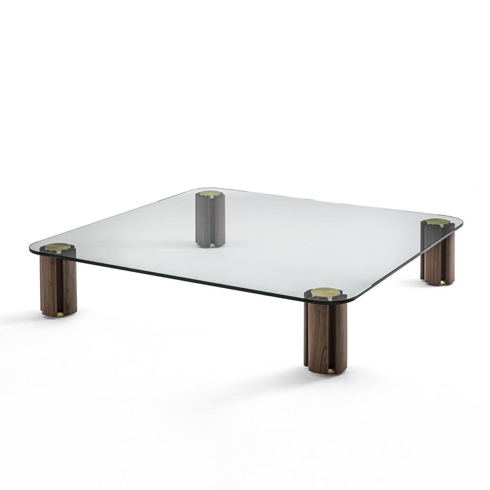 Sophisticated Quadrifoglio Coffee Table Italian Designer