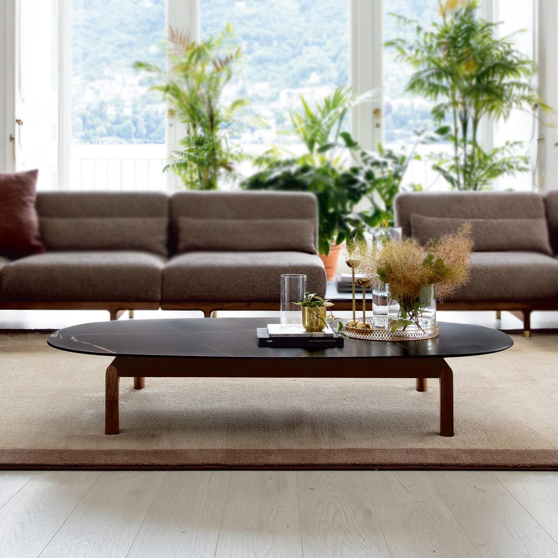 Italian Quay Ovale Coffee Table Designer Luxury