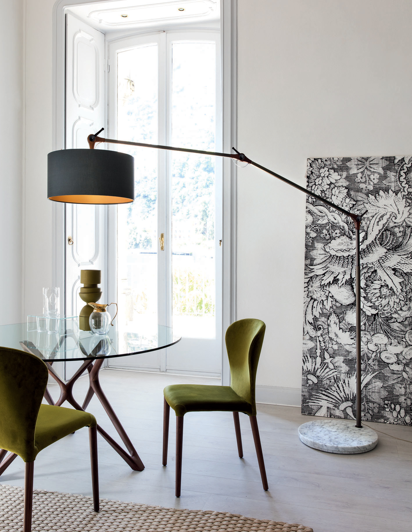 Gary big floor lamp aloadofball