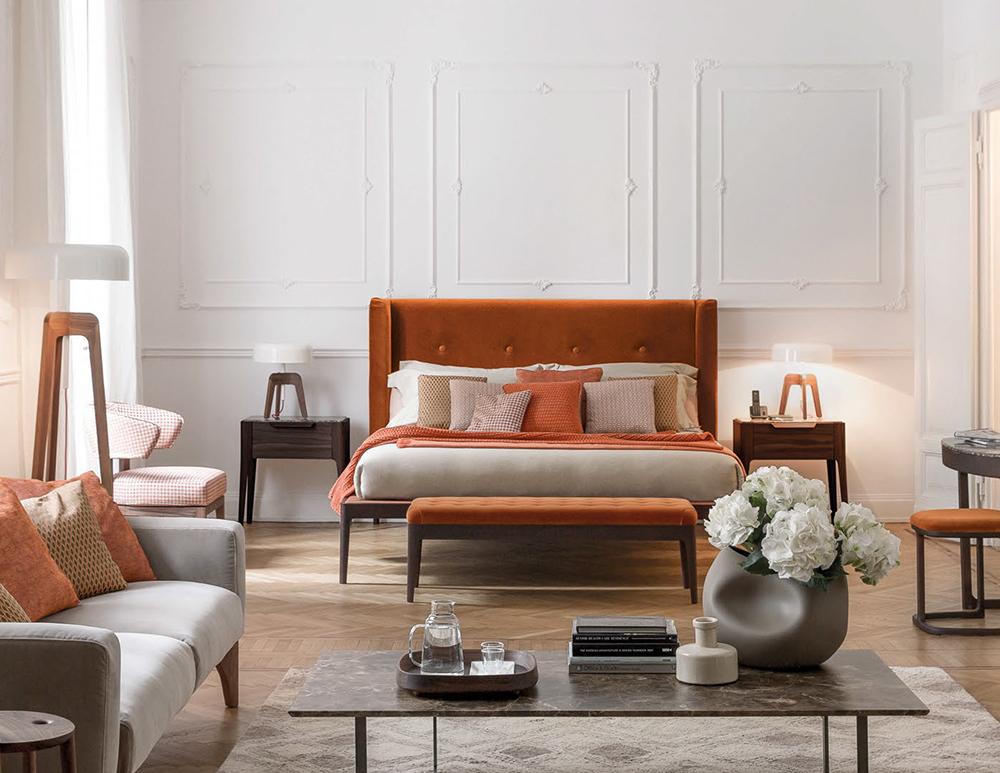 italian high end designer ziggy bed italian designer luxury furniture at cassoni. Black Bedroom Furniture Sets. Home Design Ideas