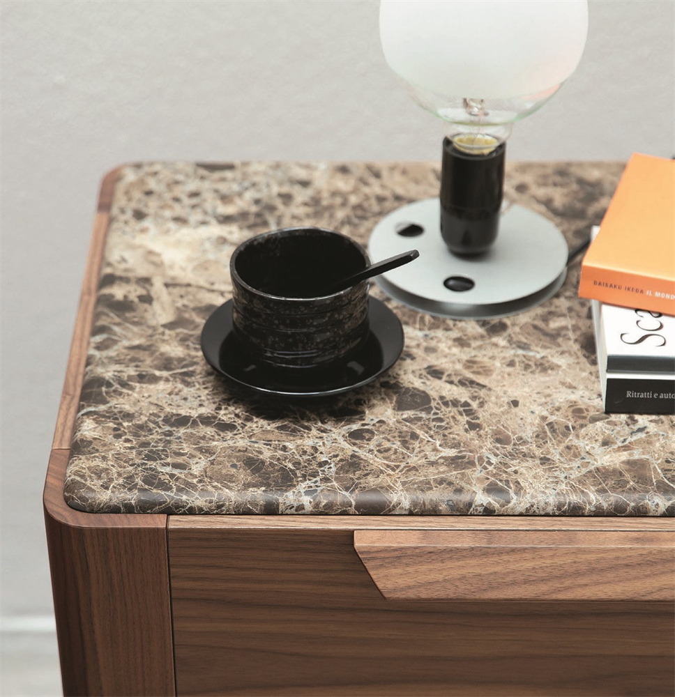get quotations marble top nightstand