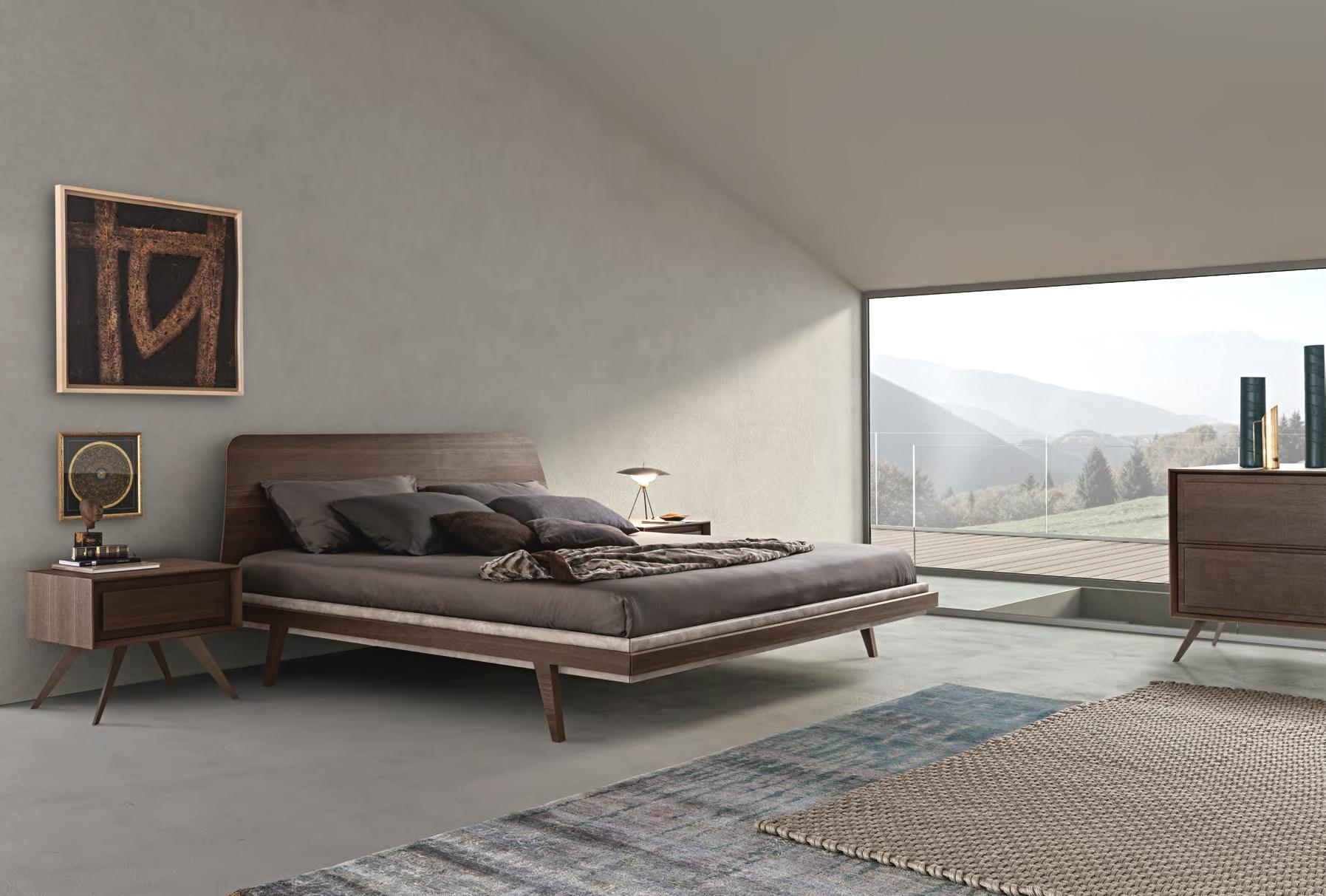 Contemporary italian 1950 39 s bed italian designer - Presotto camere da letto ...