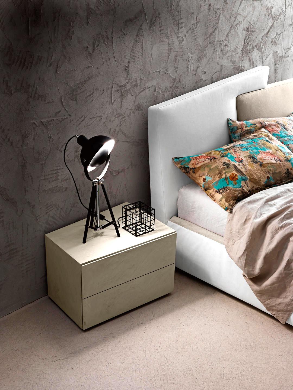 Contemporary Italian Meeting Up Bed Italian Designer
