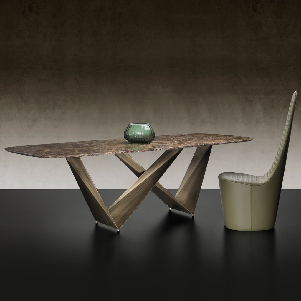 luxury italian designer prisma table italian designer luxury furniture by cassoni. Black Bedroom Furniture Sets. Home Design Ideas