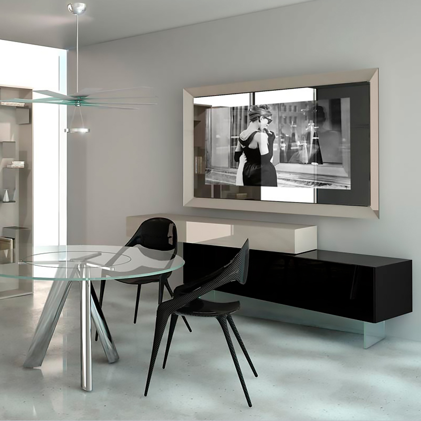 Luxury Italian Prisma TV Stand - Italian Designer & Luxury
