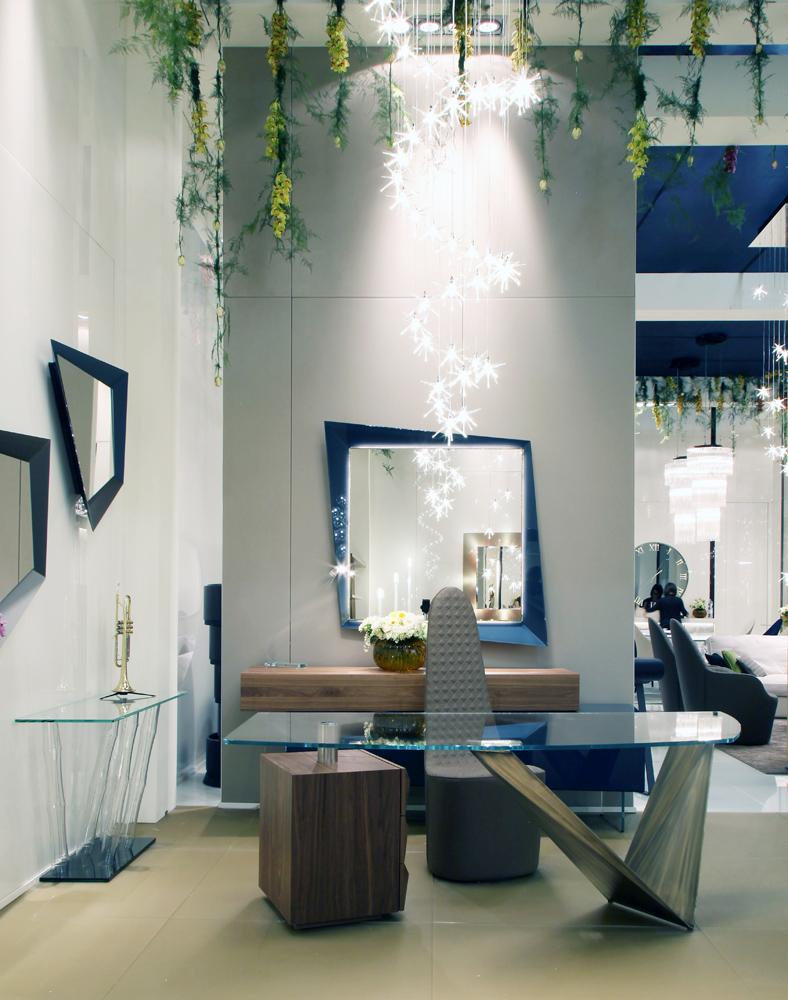 luxury italian designer prisma steel desk italian designer luxury furniture at cassoni. Black Bedroom Furniture Sets. Home Design Ideas