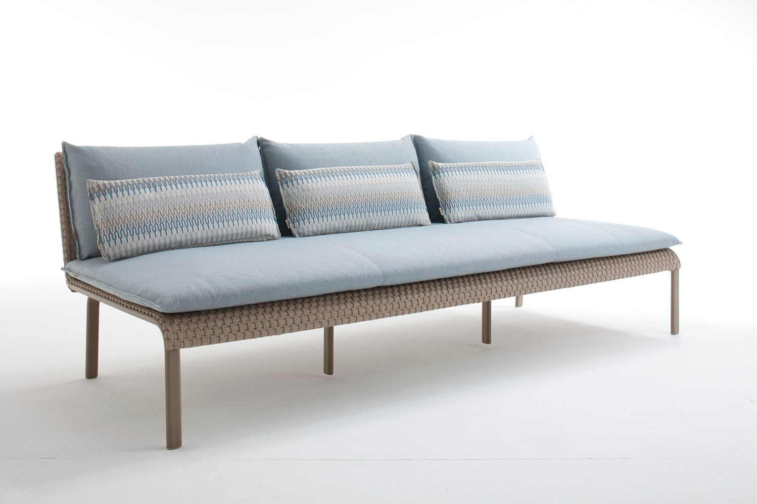 Italian key west high end sectional italian designer for Outdoor furniture high end