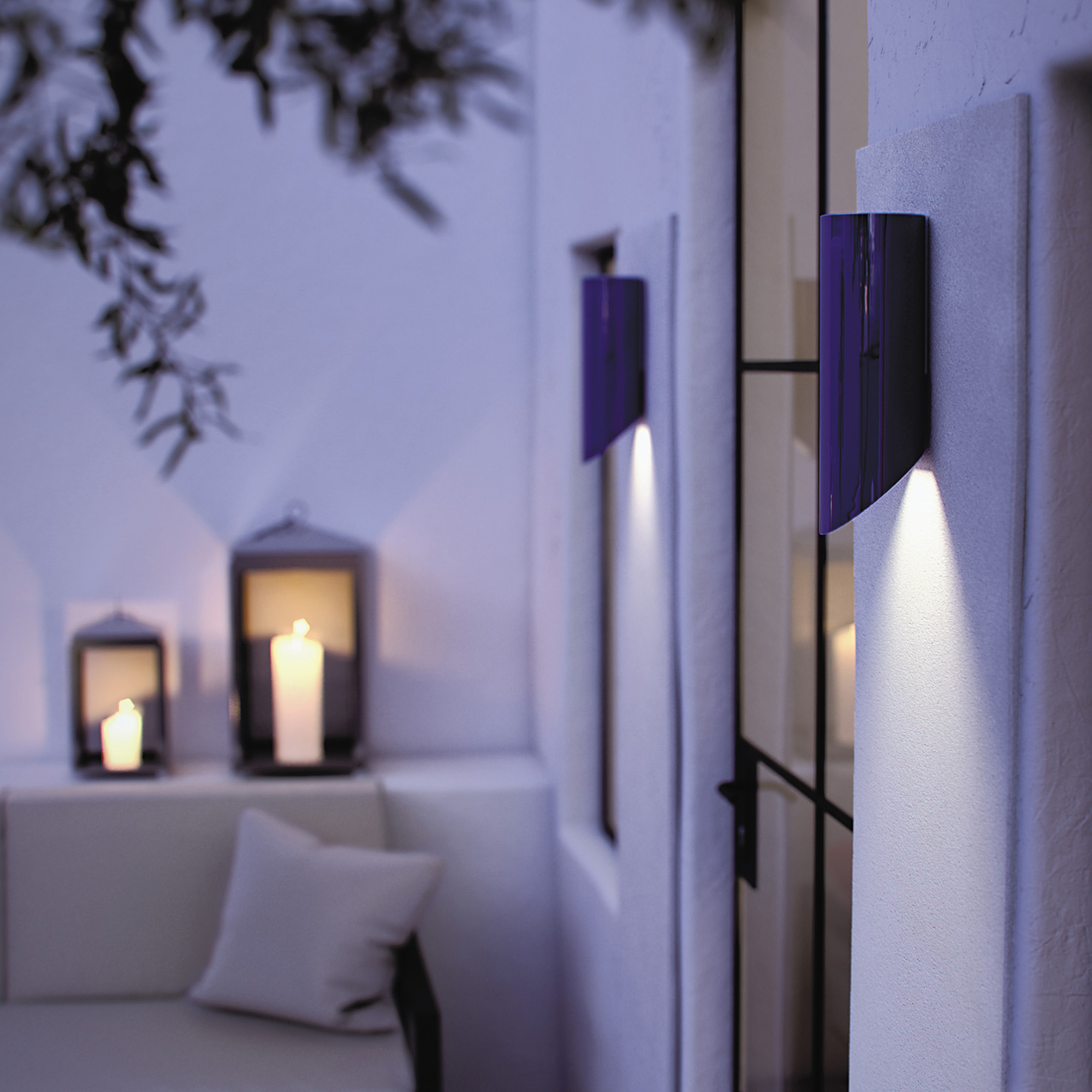 High End Outdoor Wall Sconces : High-end Designer Moso Up / Moso Down Wall Lamp - Designer & Luxury Outdoor Lighting at Cassoni
