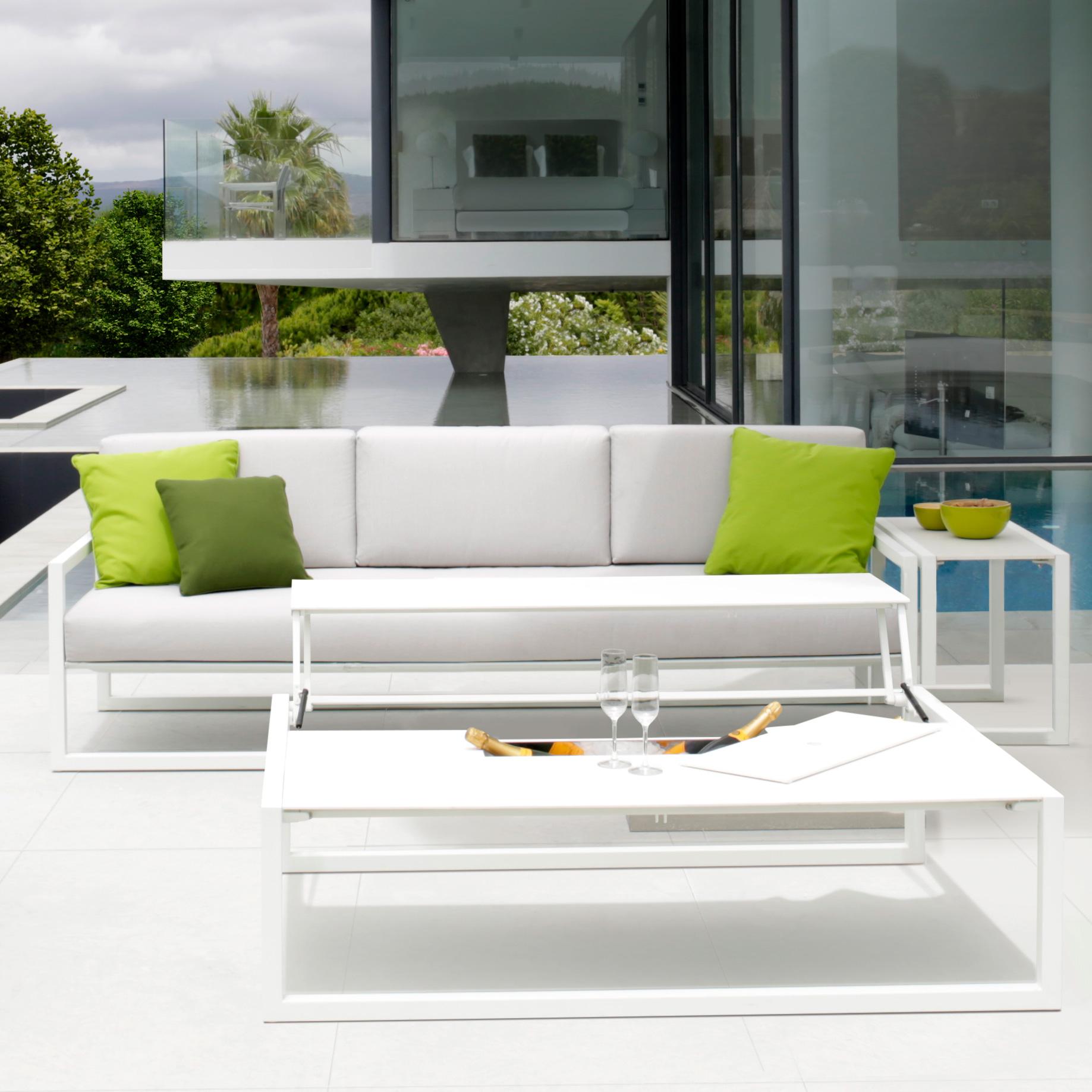 Luxury high-end Ninix Lounge Sofa Bench - Designer & Luxury Outdoor ...