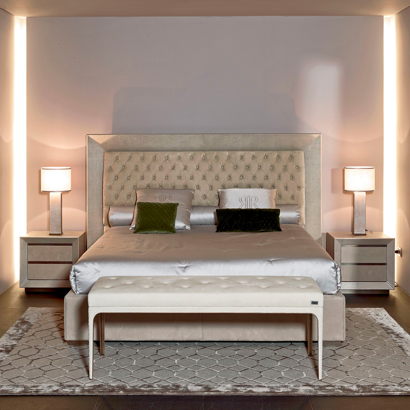 Luxury Italian Designer Kenya Bed Italian Designer Luxury Furniture At Cassoni