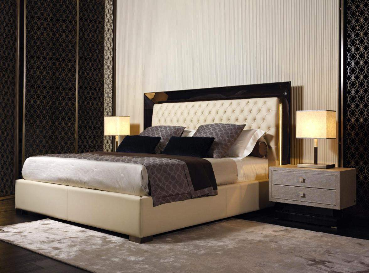 Luxury italian designer kenya bed italian designer for Designer beds and furniture