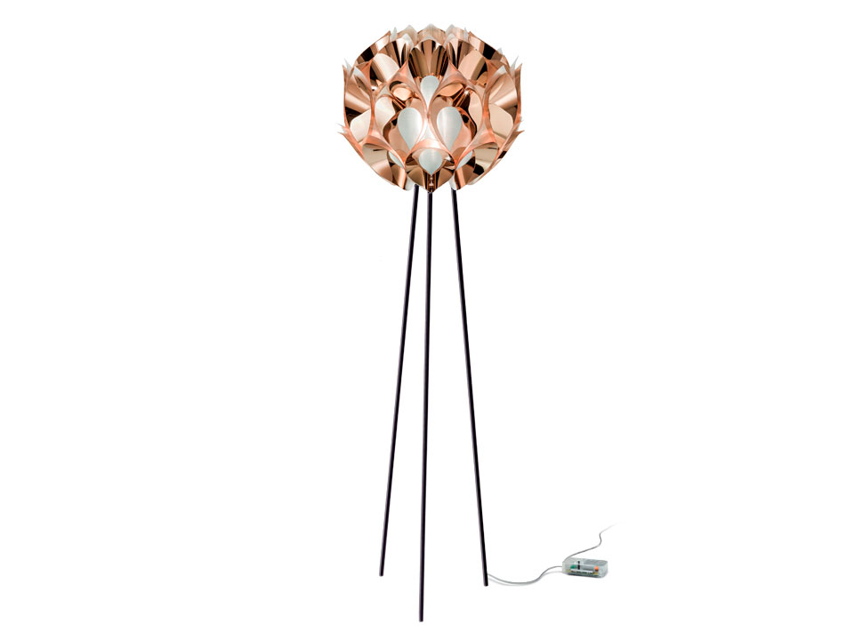 lamp and copper floor tripod black products interiors a world