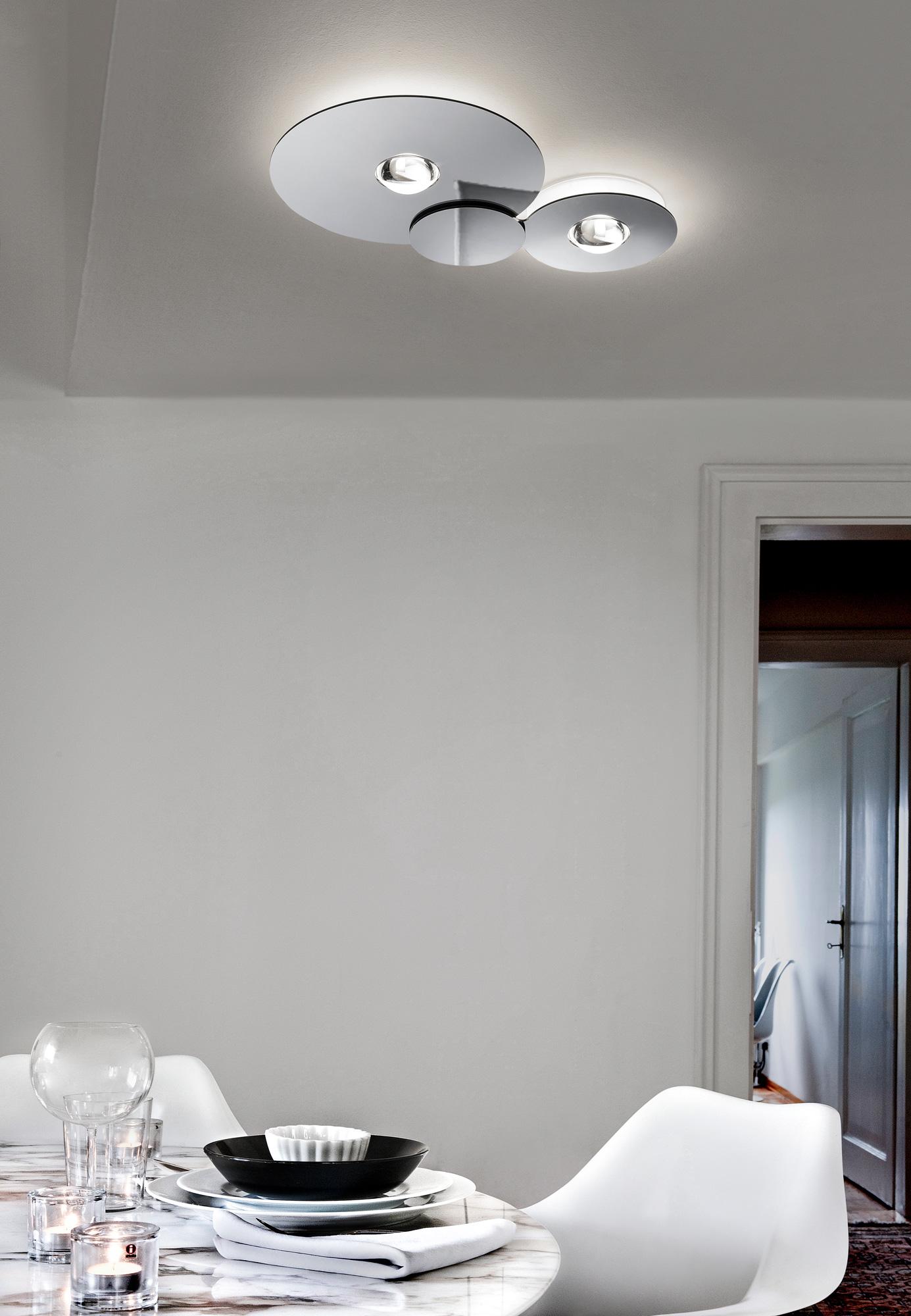 Modern high end italian designer bugia ceiling lamp for Lampadari per studio