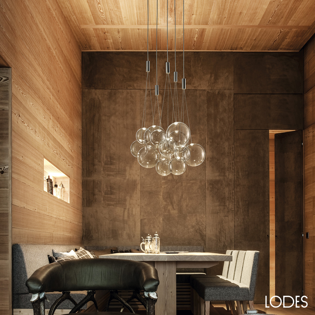 Luxury italian designer random suspension lamp designer for Suspension designer