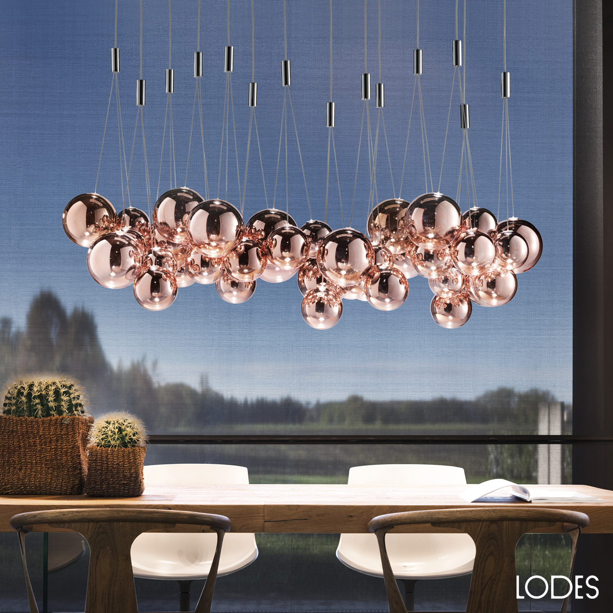 Luxury Italian Designer Random Suspension Lamp