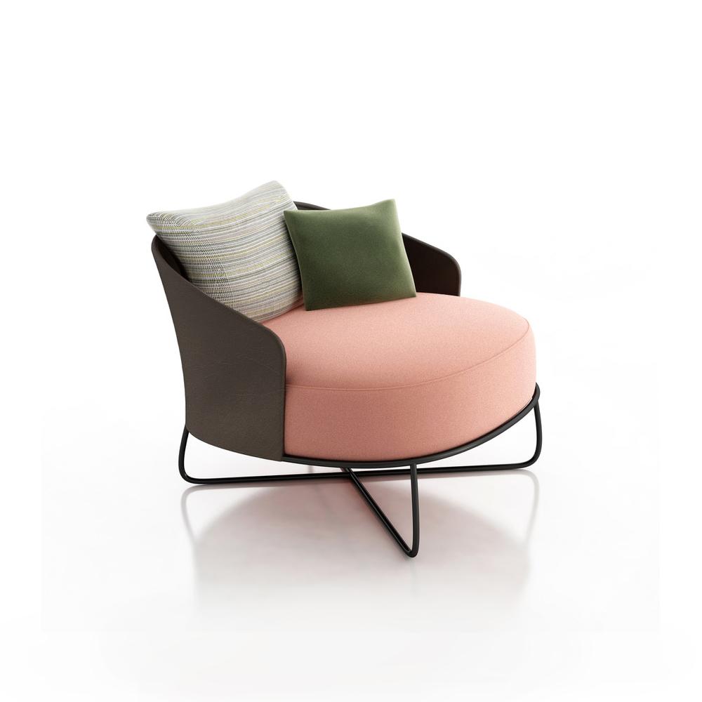 Amelie Luxury Contemporary Lounge Chair Italian Designer Luxury