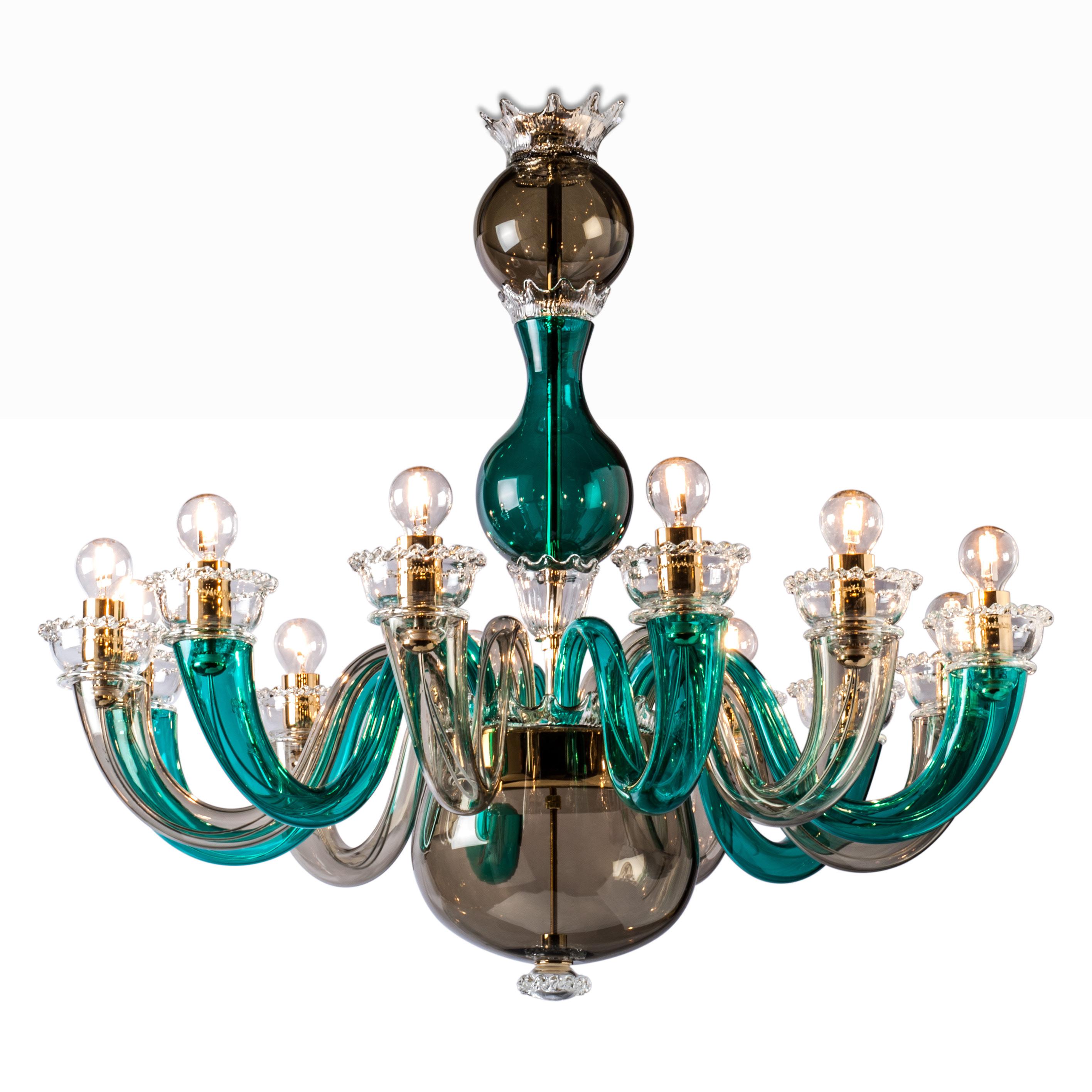 Luxury Gio Ponti Italian Designer Chandelier Italian Designer