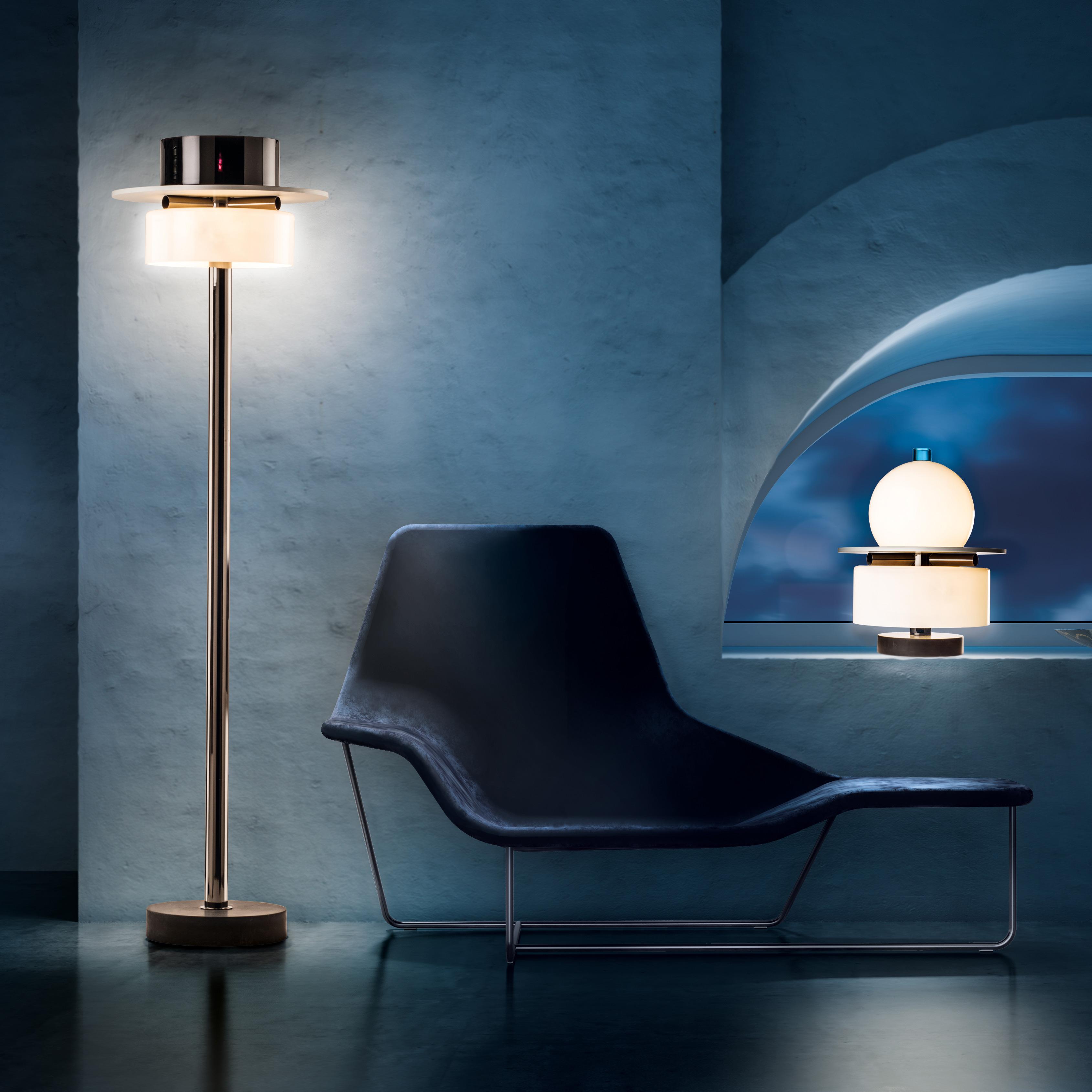 Ratrih Murano Contemporary Floor Lamp